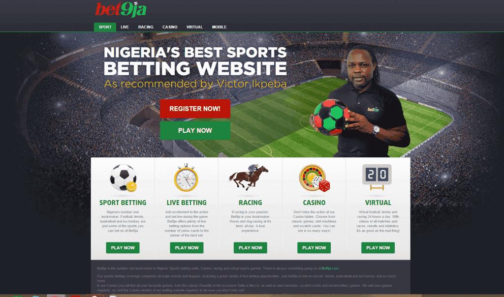 bet9ja nigerian bookmaker