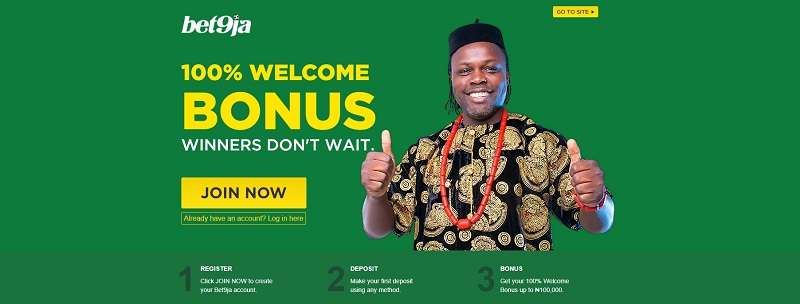 bet9ja Welcome Offer