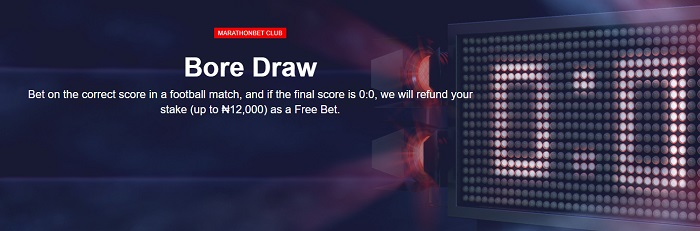 Marathonbet Bore Draw