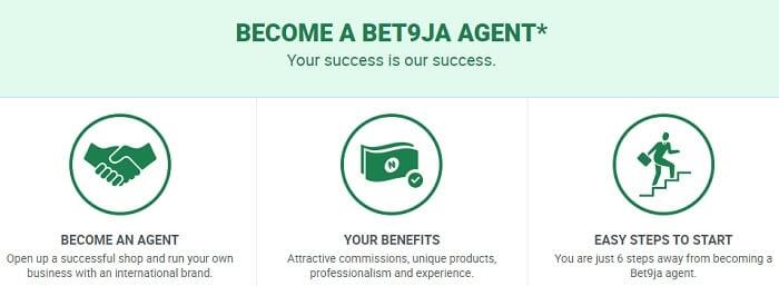Bet9ja Agent Registration