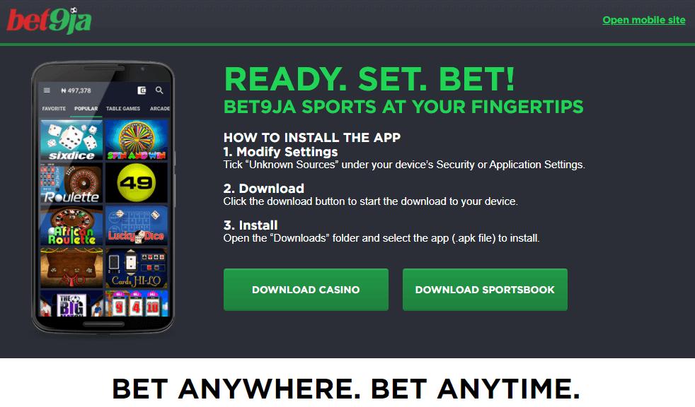 how-to-get-bet9ja-app
