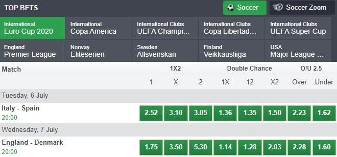Bet9ja Soccer Betting