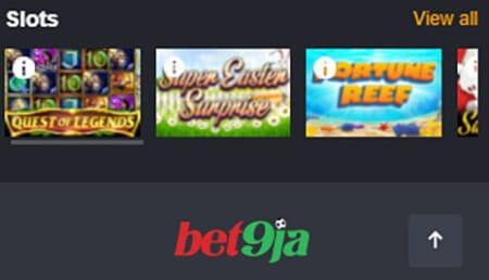Bet9ja Casino Slots Games