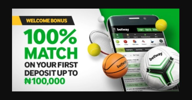 Welcome Offer Sport - Betway Nigeria review