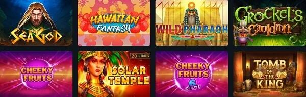 BetWinner Casino Games
